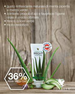 Dentifricio Aloe Vera Forever