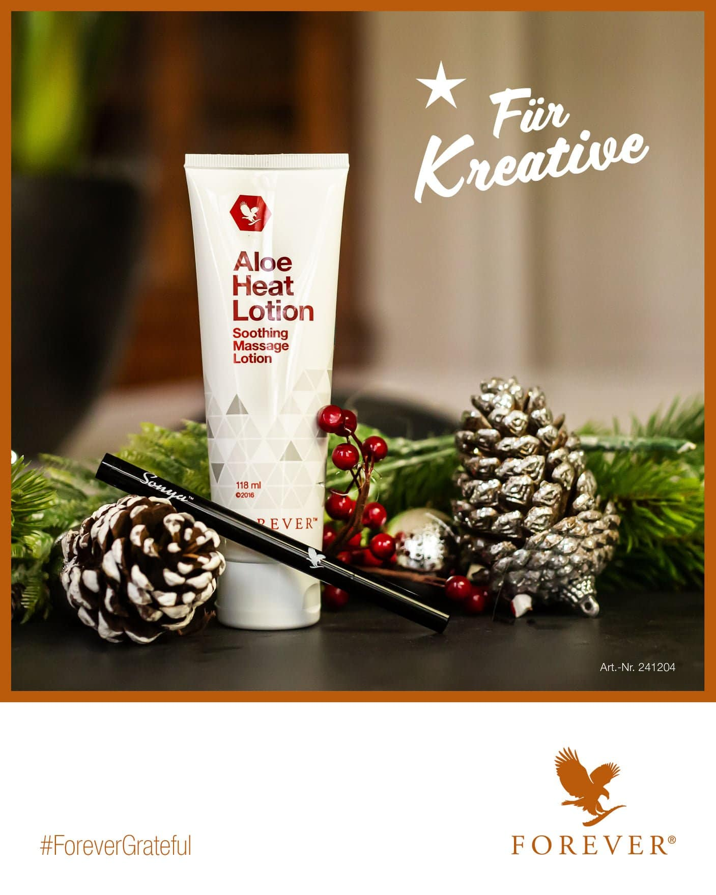 Aloe Heat Lotion Natale