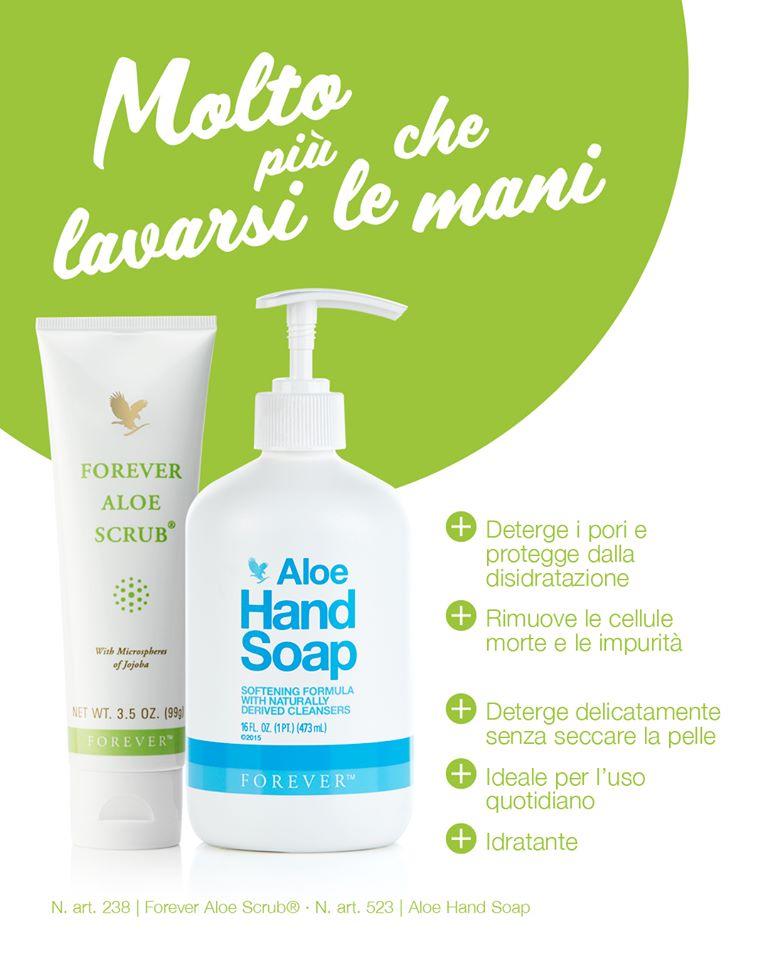 Lavarsi le mani con Forever