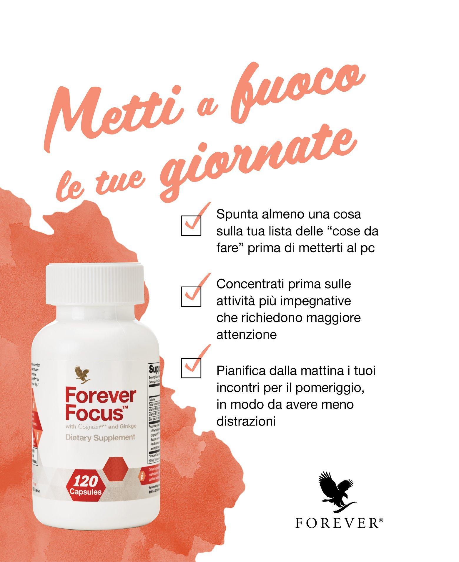 Forever Focus Nuovo Integratore