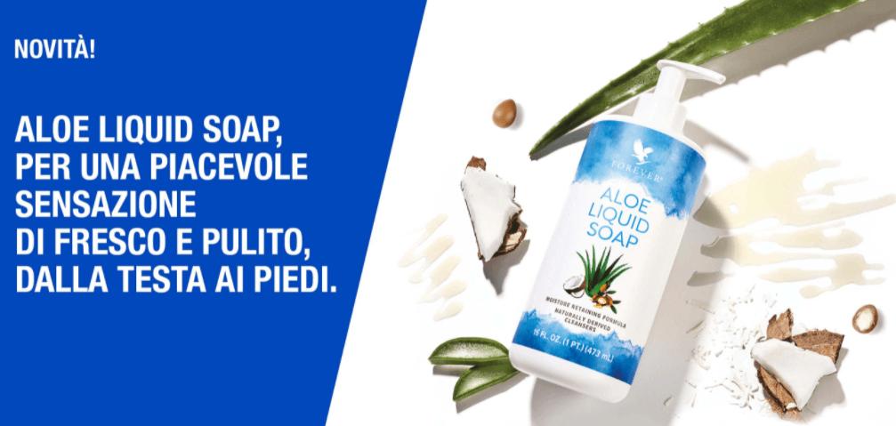 Nuovo Aloe Liquid Soap